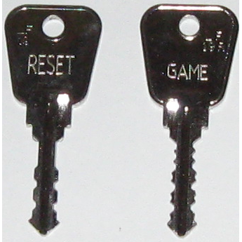 Chiave di reset 2 Fruit Machine & Pool Table - UKBumpKeys