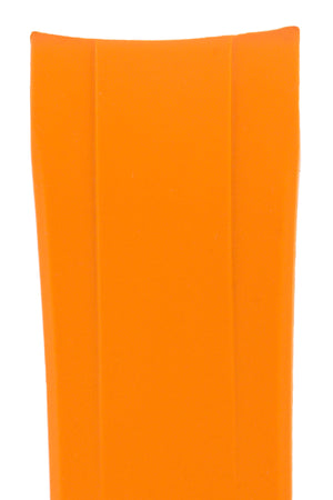 "CRAFTER BLUE Rubber Watch Strap for Seiko ""New"" Samurai Series – ORANGE"
