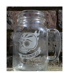 Pistonhead Jam Jar Glass