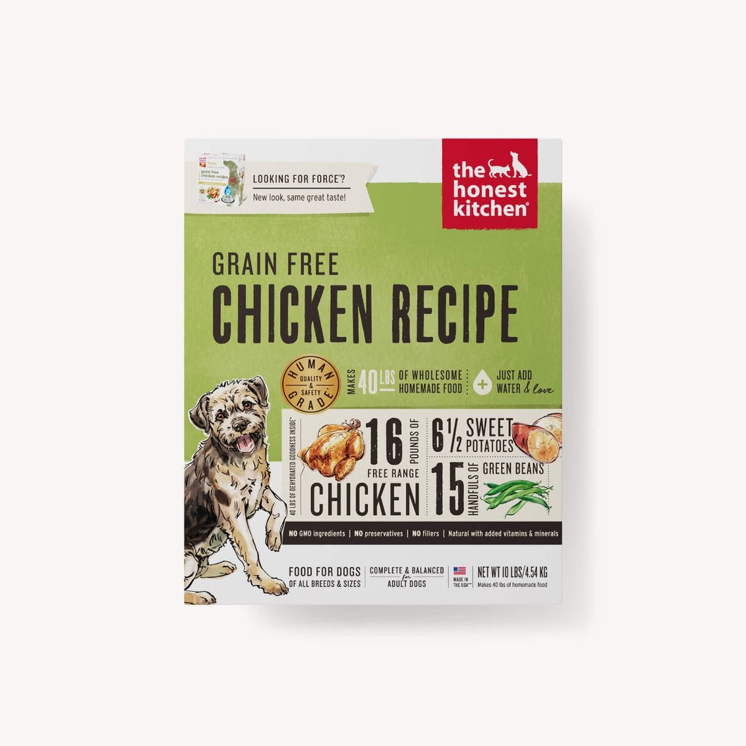 DEHYDRATED - GRAIN FREE CHICKEN RECIPE (FORCE) DOG FOOD