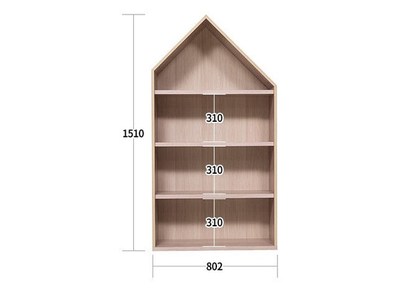 HOUSE BOOK SHELF L NEW (accept pre-order)