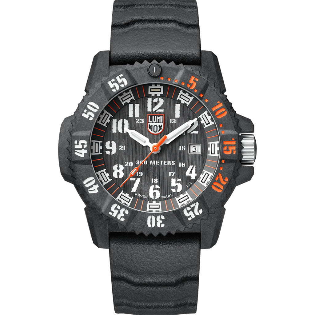 Luminox Master Carbon Seal Automatic 3801 Watch | 46mm- 3801.C.SET