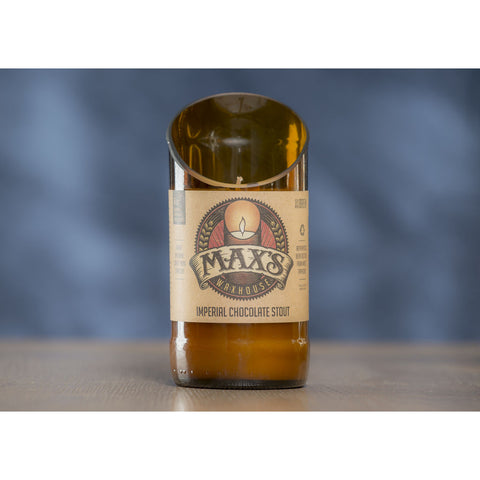 Max's Waxhouse 6oz Beer Bottle Candle | Imperial Chocolate Stout