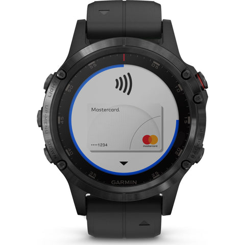 Garmin Fenix 5 Plus Sapphire Multisport GPS Watch | Black 010-01988-00