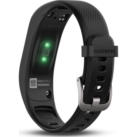 Garmin Vivosmart 3 HR Activity Tracker Small/Medium | Black 010-01755-10