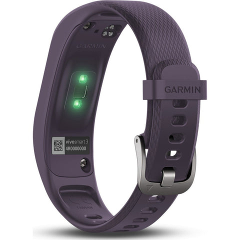 Garmin Vivosmart 3 HR Activity Tracker Small/Medium | Purple 010-01755-11