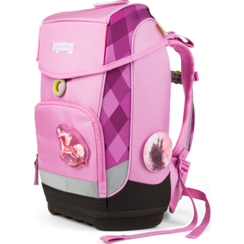 Ergobag Cubo Slim Backpack | Pink Bear