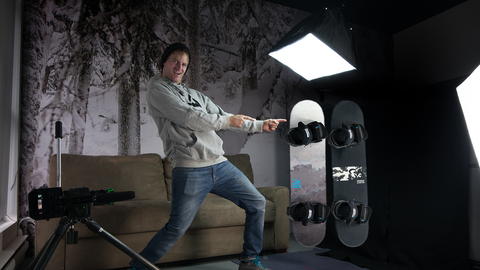 Snowboard Addiction Training Boards