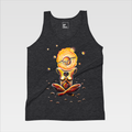 Urban Art Company - Alvin Surreal - Cosmic Meditation  - T-Shirt - Tri-Black