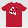 Urban Art Company - Ked Kevin - Chill Vibes - T-Shirt - Red