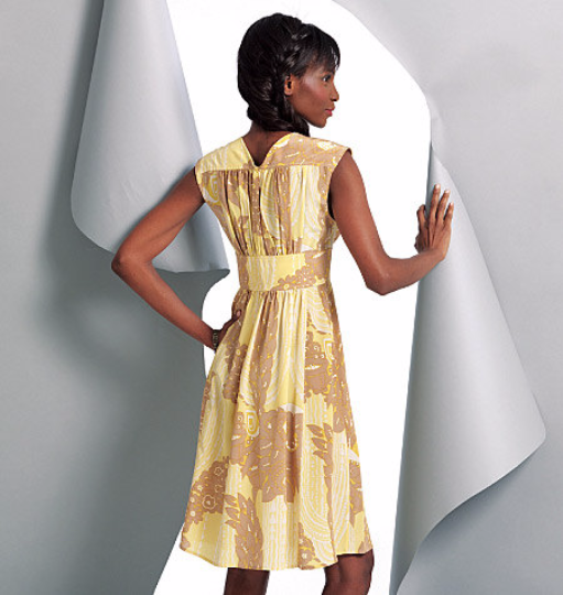 V1086 Vogue American Designer Dress Sewing Pattern: Tracy Reese Vogue 1086 Out of Print