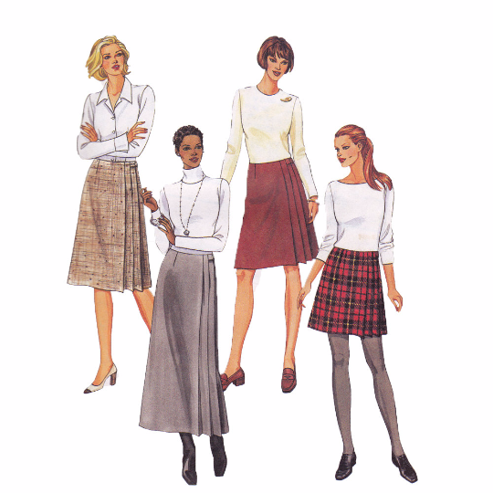 McCalls 2303 Sewing Pattern - Kilt Skirt Pattern