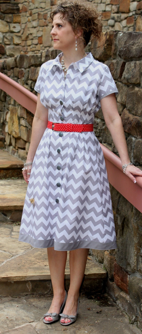 Serendipity Studio Sally Shirtdress Sewing Pattern
