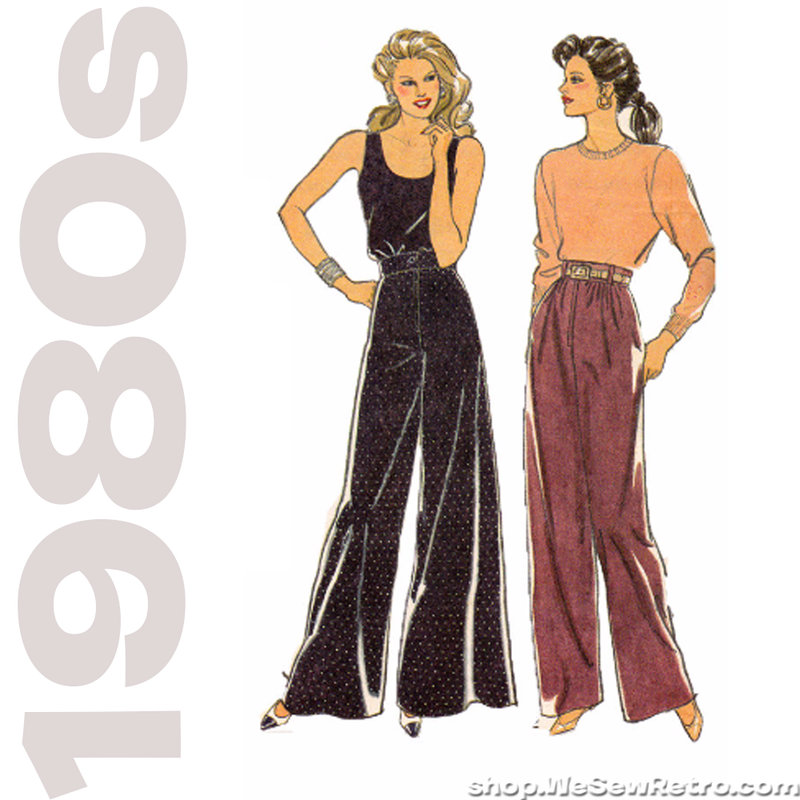 Style 1445 Sewing Pattern - Set of Trousers