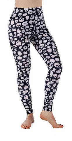 """The Dana"" Skully Leggings - Tasty Tiger - 1"