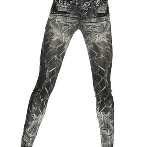 Hilly Billy Cowboy Fitness Leggings