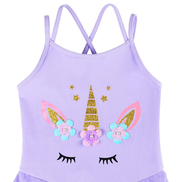 Unicorn Secrets Girl Ballet Tutu Dress - DeltaDancewear