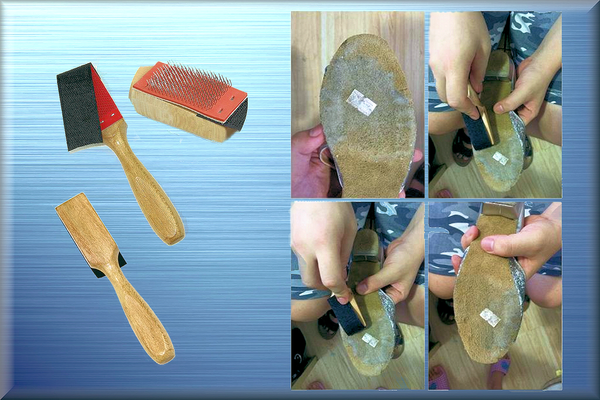 Suede Sole Cleaning Brush - DeltaDancewear