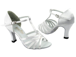 Immaculate White Wedding Dance Shoes - DeltaDancewear