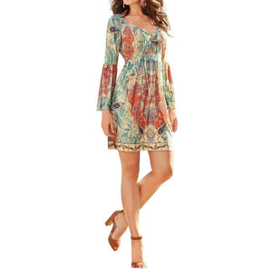 Sun and Sand Boho Mini Dress - DeltaDancewear