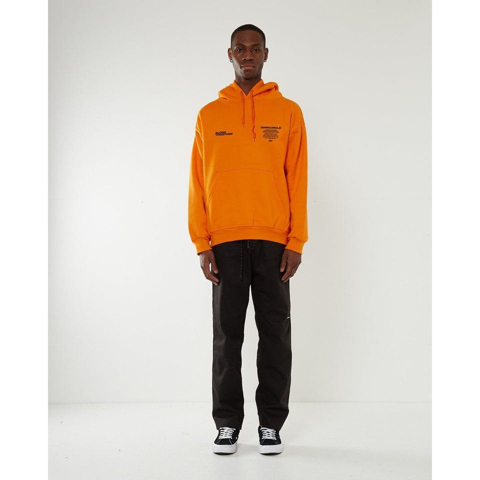 Senses Hoodie - Orange Hoodie Dark Circle Clothing