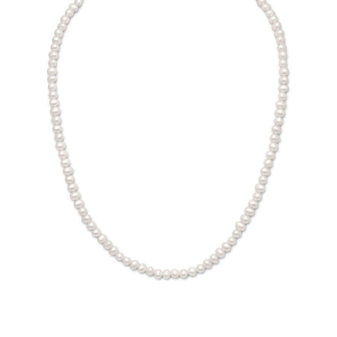 "15"" Freshwater Pearl Necklace"
