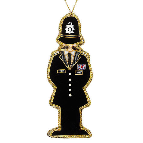 Decoration - Policeman (Bobby)
