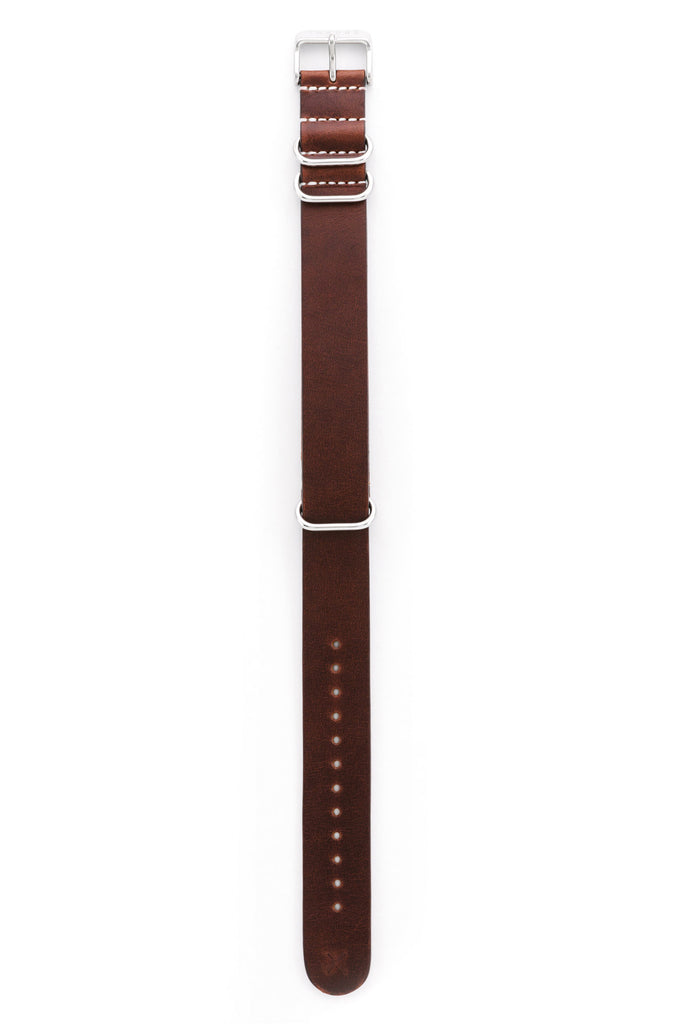 Cognac leather NATO band