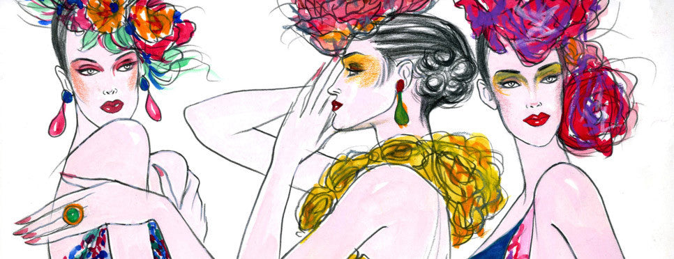Hamza Arcan Illustration Artwork Fashion Print #007
