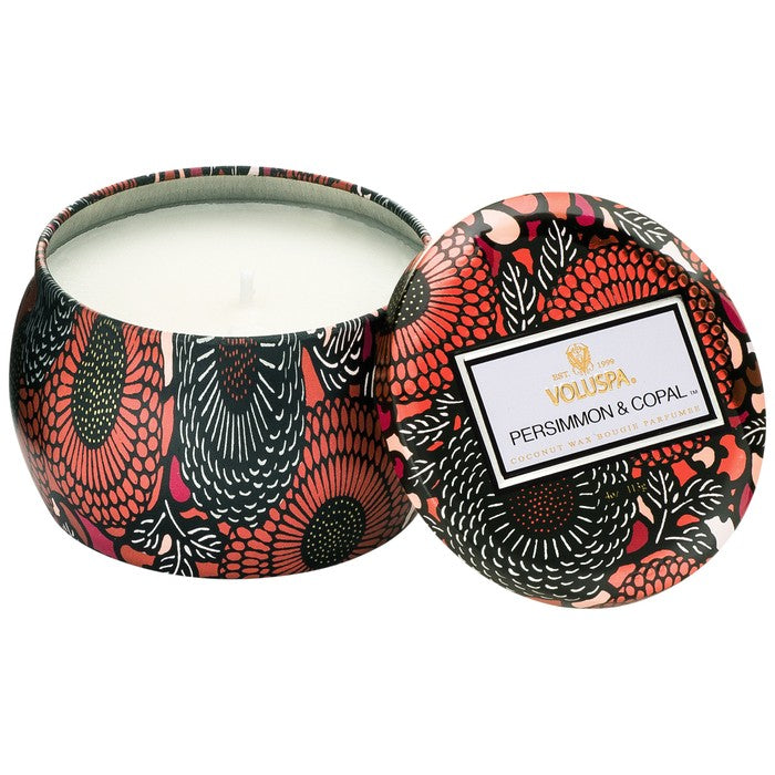 Voluspa Petite Decorative 4 oz candle - Persimmon & Copal