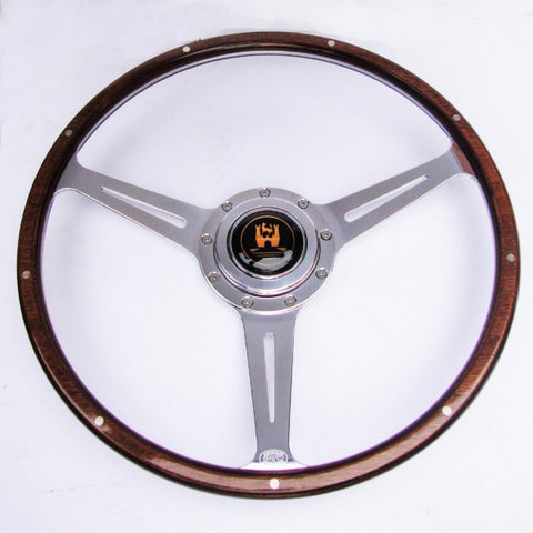 Baywindow bus steering wheel by Aircooled Accessories .