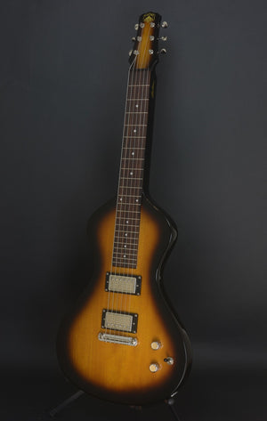 SOLD Asher 2018 Upgraded Electro Hawaiian® Junior Lap Steel Guitar - Tobacco Burst with Custom Covers