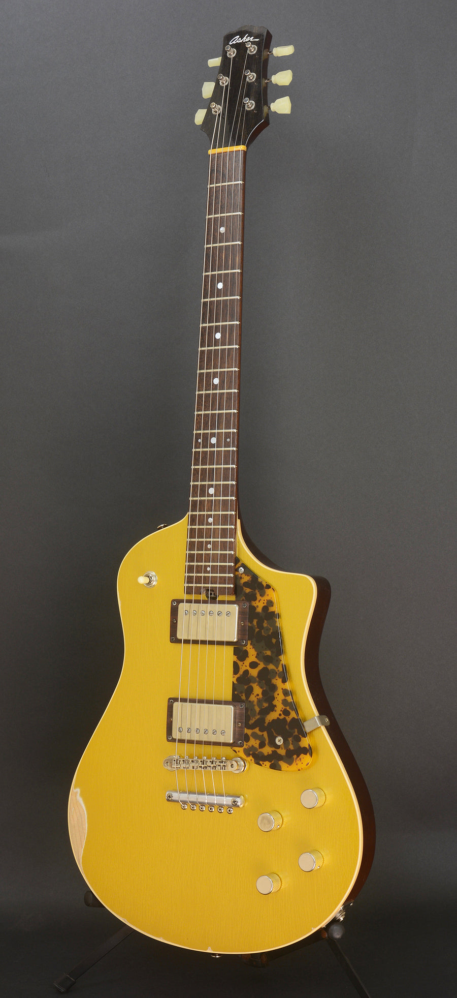 SOLD 2018 Electro Sonic Gold Top Relic #1065, Duncan Antiquities and Custom Details