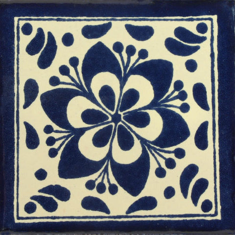 Traditional Decorative Mexican Tile - jardin