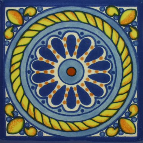 Decorative Mexican Tile set of coasters