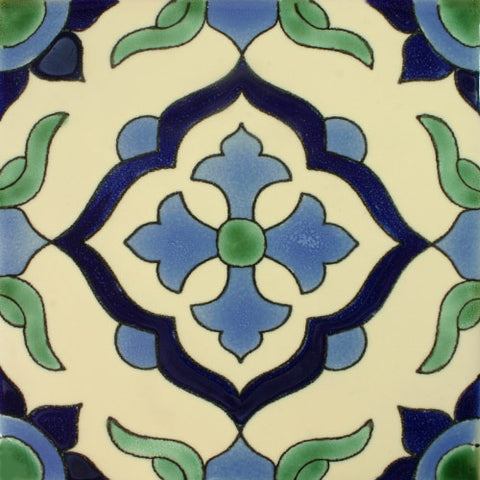 Porcelain Mexican Tile - Cruz Azul