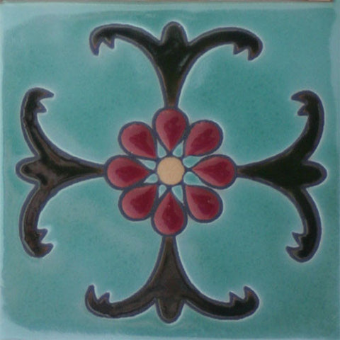 Raised Relief Malibu tile