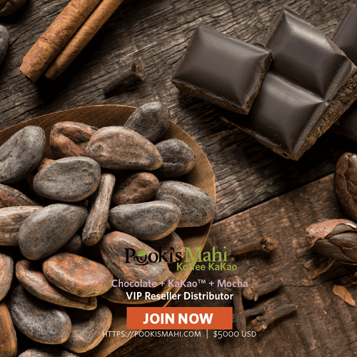 Join Pooki's Mahi VIP Reseller Distributors @ https://pookismahi.com/products/vip-reseller-distributor-pricing pay distributor pricing with free shipping for 100 Kona coffee pods.