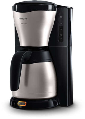 Philips Gaia Collection Mit Thermoskanne Edelstahl Schwarz Hd7546 20