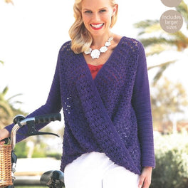Top Crocheted in Sirdar Cotton 4ply - Digital Version