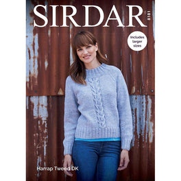 Sweater in SIrdar Harrap Tweed DK - Digital Version