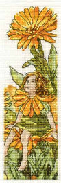 The Marigold Fairy Bookmark
