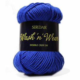 Sirdar Wash 'n' Wear Double Crepe DK (50g ball)