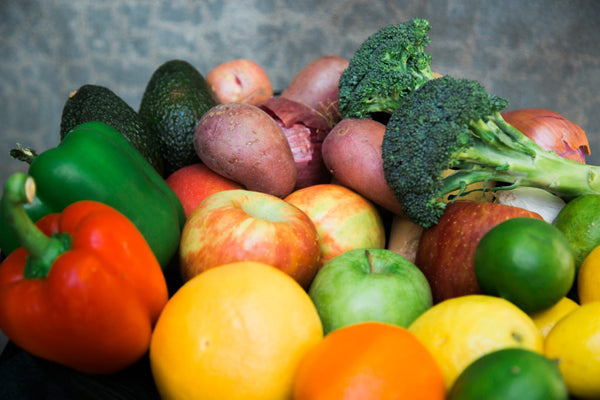 vitamins from vegetables and fruit