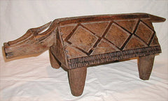 Drum or a Slit Gong in a form of a buffalo