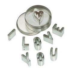 'I Love You' Mini Cookie Cutter Set