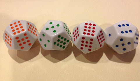 12 Sided Spotted Dice