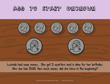 Add to Start Unknown - Money