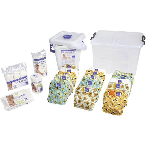 Bambino Mio Miosolo Premium Birth to Potty Pack, (Choose Your Color)