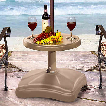 Shademobile Rolling Umbrella Base with Table